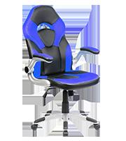 Sillón Premium Gamer Brandon Azul