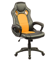 Sillón Plus Gamer Stone Amarillo