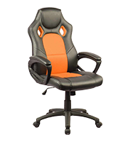Sillon Plus gamer stone naranja
