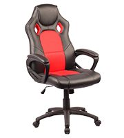 Sillón Plus Gamer Stone Rojo