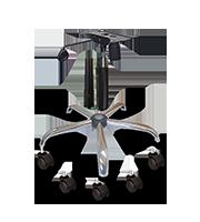 Kit ejecutivo base cromo y mecanismo se