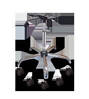 Kit ejecutivo base, pistón cromo y mecanismo se