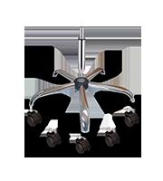 Kit ejecutivo base y pistón cromo M S/E